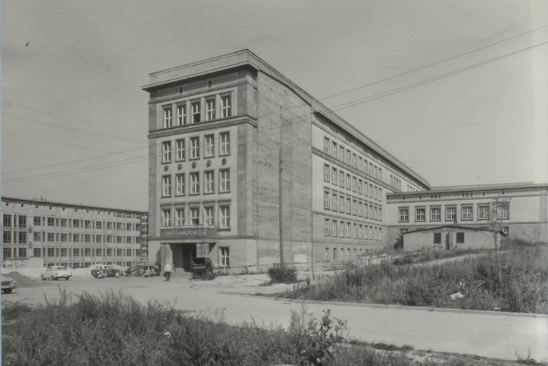 The Institute of Chemistry at MLU, inaugurated on the Weinberg Campus on 3 September 1964.